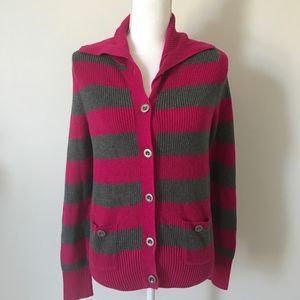 NWOT Tommy Hilfiger Ladies Button Up Sweater
